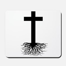 Rooted In Christ Mousepad