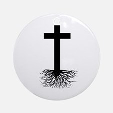 Rooted In Christ Ornament (Round)