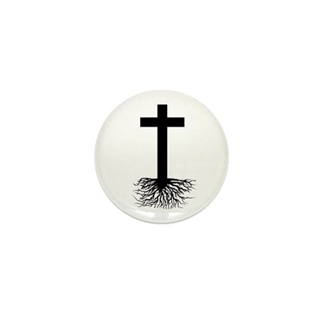 Rooted In Christ Mini Button (10 pack)