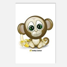 Monkey Postcards (Package of 8)