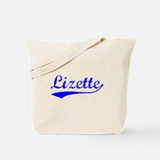Vintage Lizette (Blue) Tote Bag