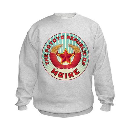 Potato Republic of Maine Kids Sweatshirt