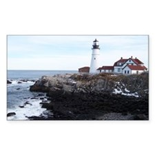 Scenic Portland Headlight Rectangle Decal
