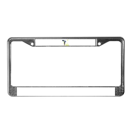 i wake License Plate Frame