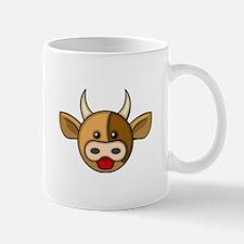 Bull Head Mug