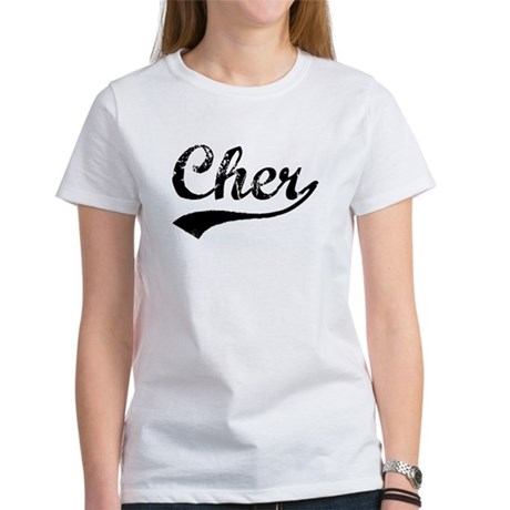 Vintage Cher (Black) Women's T-Shirt