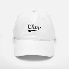 Vintage Cher (Black) Baseball Baseball Cap