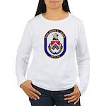 USS JOHN L. HALL Women's Long Sleeve T-Shirt