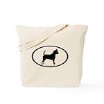 Chihuahua Oval Tote Bag