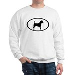 Chihuahua Oval Sweatshirt