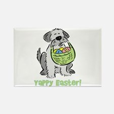 Yappy Easter Rectangle Magnet
