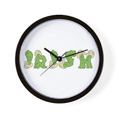 IRISH Vomit Wall Clock