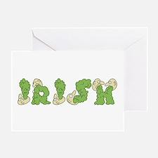 IRISH Vomit Greeting Card