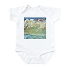 NEPTUNE'S HORSES Infant Bodysuit
