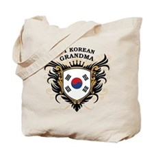 Number One Korean Grandma Tote Bag