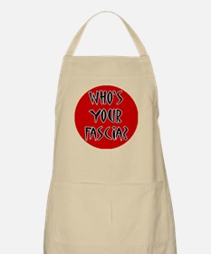 Who's Your Fascia BBQ Apron