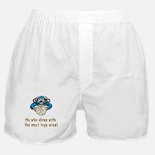 Scuba Funnies for Him Boxer Shorts