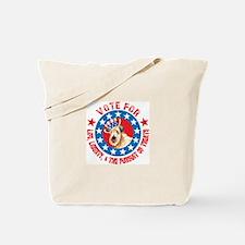 Vote for Wheaten Tote Bag