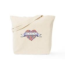 Love My Bridge Player Tote Bag