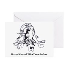 N HarlHaven'tHeard Great Dane Cards (10p)