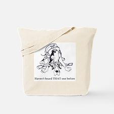 N HarlHaven'tHeard Great Dane Tote Bag