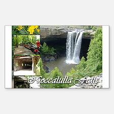 Noccalulla Falls Rectangle Decal