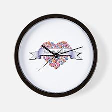 Love My Bobsledder Wall Clock