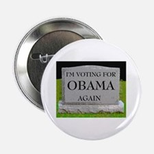 "OBAMA STONE 2.25"" Button"