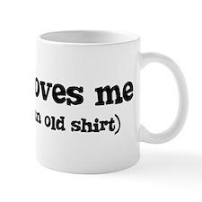 Justus loves me Mug