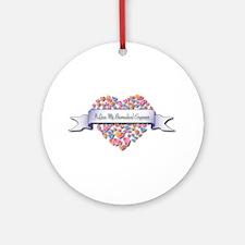 Love My Biomedical Engineer Ornament (Round)