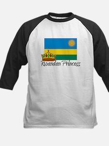 Rwandan Princess Kids Baseball Jersey