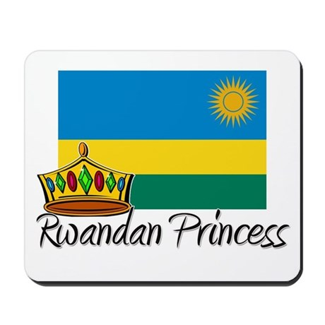 Rwandan Princess Mousepad