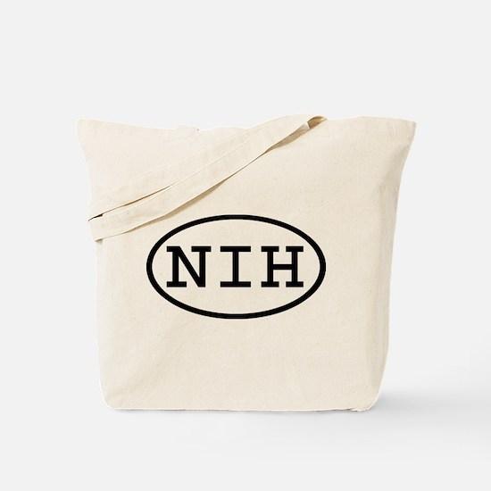 NIH Oval Tote Bag