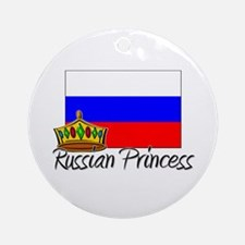 Russian Princess Ornament (Round)