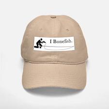 """I Bonefish."" Baseball Baseball Cap"