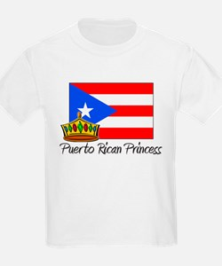 Puerto Rican Princess T-Shirt