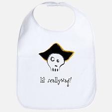 Pirate Baby Bib