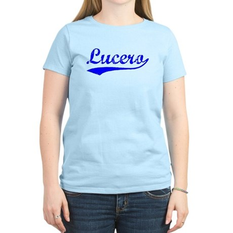 Vintage Lucero (Blue) Women's Light T-Shirt