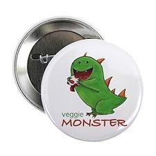 "Veggie Monster 2.25"" Button"