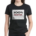 100 Percent Sawyer Women's Dark T-Shirt