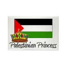 Palestinian Princess Rectangle Magnet (10 pack)