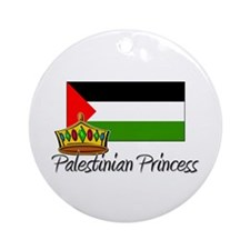 Palestinian Princess Ornament (Round)