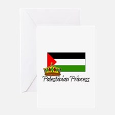 Palestinian Princess Greeting Card