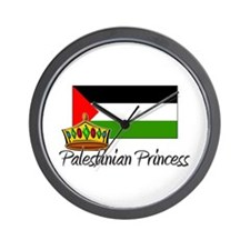 Palestinian Princess Wall Clock