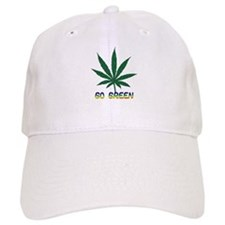 Go Marijuana Green Baseball Cap