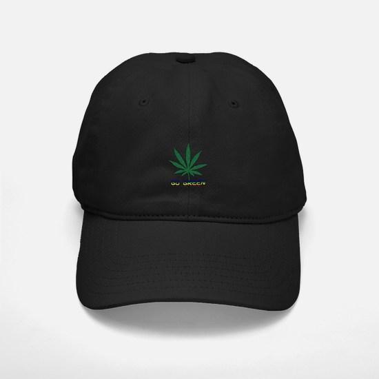 Go Marijuana Green Baseball Hat