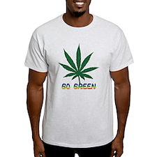 Go Marijuana Green T-Shirt