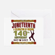 Juneteenth - 140th Greeting Cards (Pk of 10)