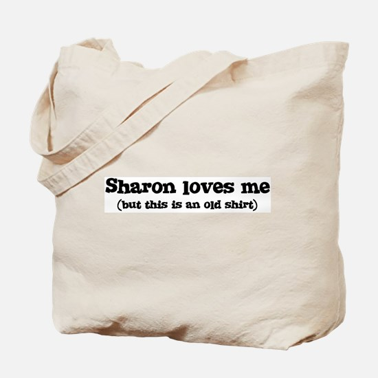 Sharon loves me Tote Bag