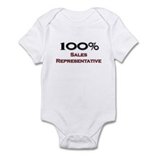 100 Percent Sales Representative Infant Bodysuit